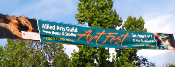 Post image for ArtFest takes place at Allied Arts Guild on June 4