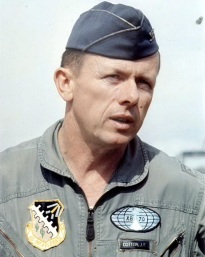 "Aviation pioneer Col. Joe F. Cotton ""takes his last flight"" at age 94"
