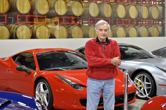 M-A grad Dick Burns recounts career in food, restaurants, wine and cars