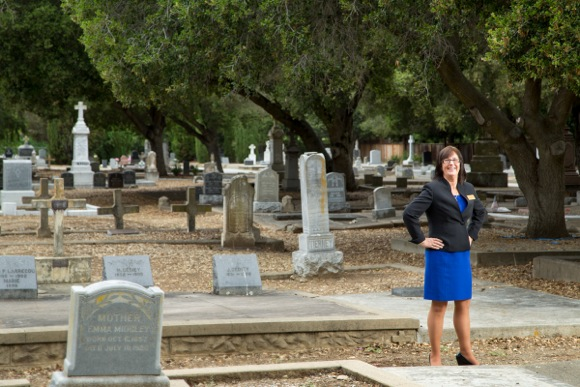 Post image for Kathy Wade takes us on a tour of Holy Cross Cemetery in Menlo Park