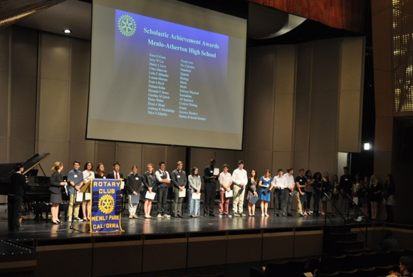 Post image for Rotary Club of Menlo Park awards scholarships totaling $125,000 to local high school seniors