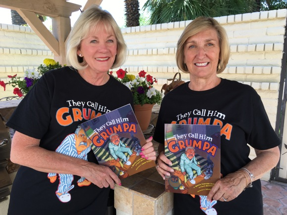 Terri Mainwaring and Bonnie Jacobs, authors of Call Me Grumpa