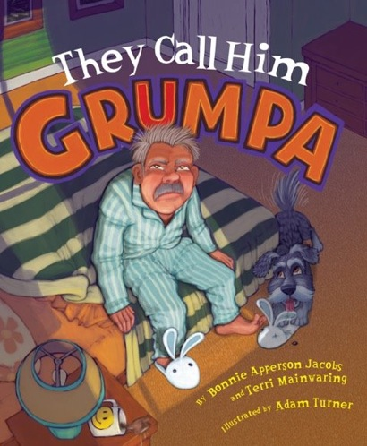 Terri Mainwaring authors first book of children's fiction about a grumpy grandpa