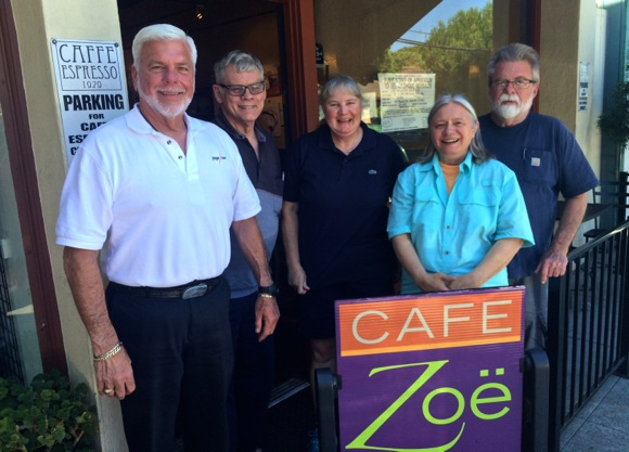 Post image for Cafe Zoe hosts art show created by vets as part of art therapy at Menlo Park VA