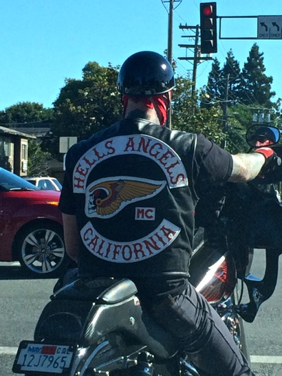 Post image for Spotted: Hells Angels MC member on Menlo Avenue