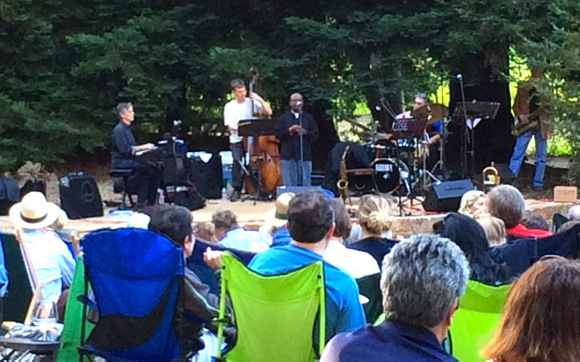 Post image for Great start to summer with jazz at Portola Vineyards