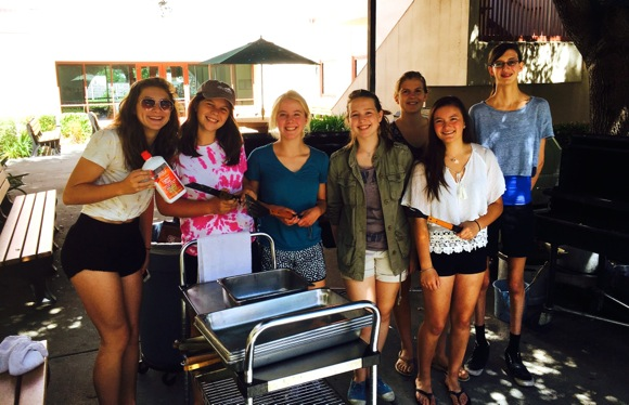 M-A Leo Club treats local veterans to barbecue