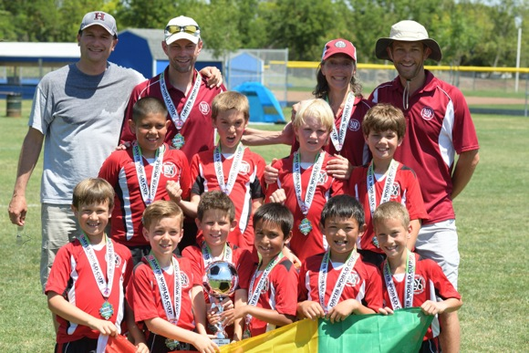 Two Menlo Park soccer teams find success at the Davis World Cup Tournament