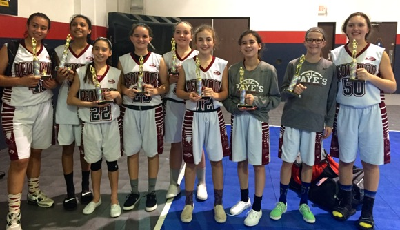 Post image for John Paye's 7th grade girls' basketball team heads to AAU National Championship Tournament