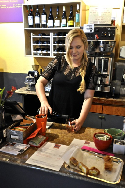 Cafe Zoë adds wine to its mix of coffee and tasty treats