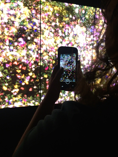 Newsroom By the Bay students visit Pace Art + Technology:TeamLab in Menlo Park