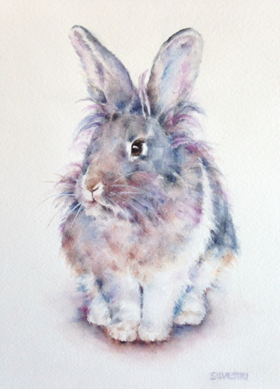 Post image for Teresa Silvestri's animal portraits featured in July at Portola Art Gallery