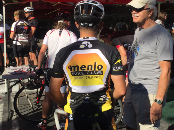 Post image for Spotted: Menlo Bike Club at Tour de Menlo training ride