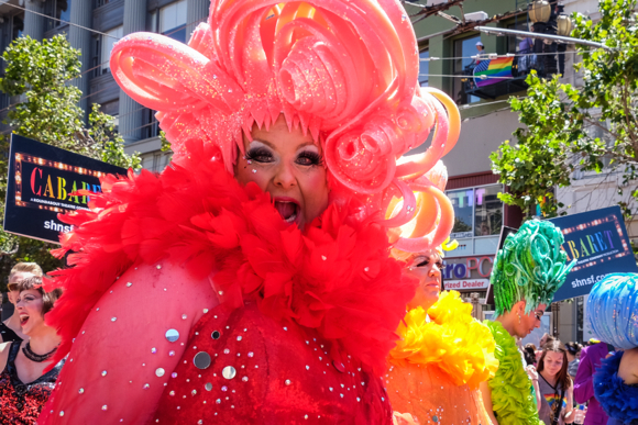 Post image for Photographer Irene Searles captures the multi-facets of the Gay Pride Parade in San Francisco