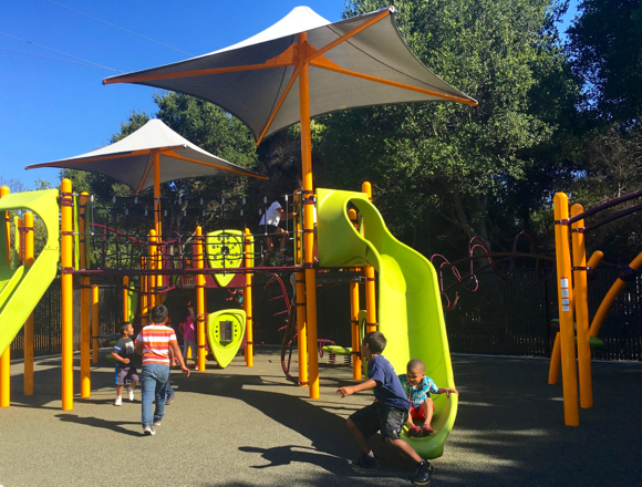 Post image for Belle Haven Youth Center celebrates opening of new ADA-compliant playground
