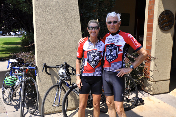 Ann and her dad Jym Clendenin