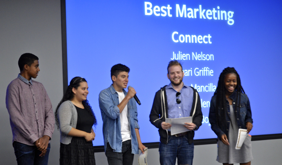 TeamConnect at FB Academy graduation