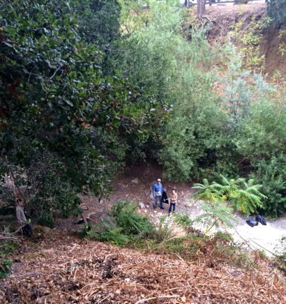 Post image for Spotted: Family cleaning up San Francisquito Creek