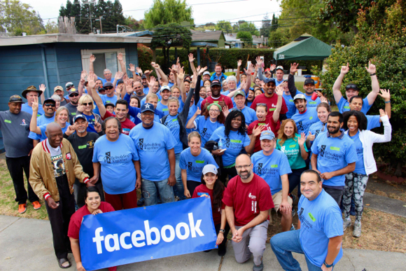 Post image for Rebuilding Together Peninsula and Facebook partner on rehabilitating three homes in Menlo Park