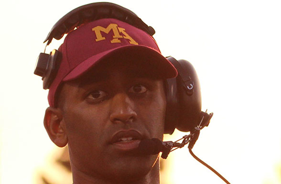 Post image for Menlo-Atherton High School football coach Adhir Ravipati named 49ers coach of the week