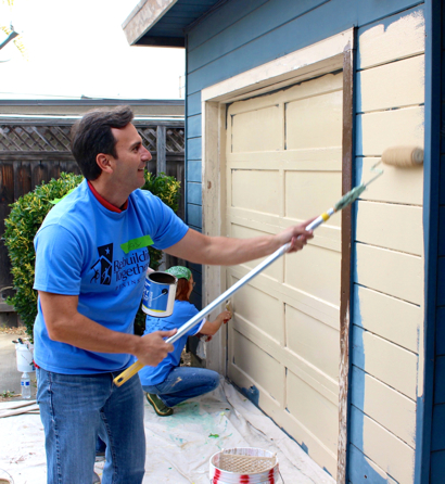 Rebuilding Together Peninsula and Facebook partner on rehabilitating three homes in Menlo Park