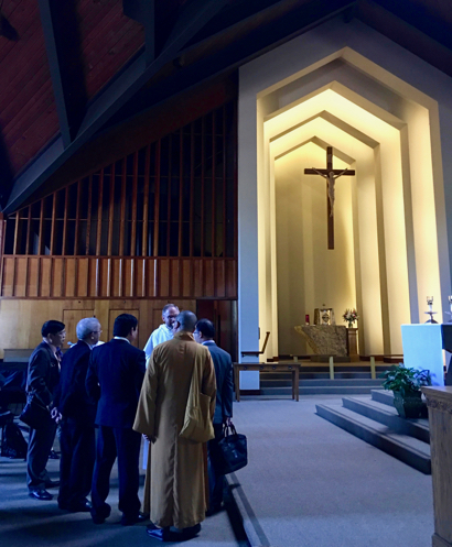 Delegation from Vietnam visits Menlo Park to discuss religious freedom
