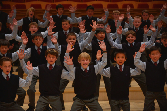 Post image for Ragazzi Boys Chorus performs at Woodside's First Friday Event on Nov. 4