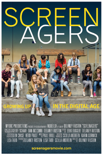 Post image for View documentary Screenagers at Hillview School on October 5