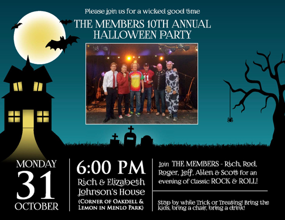 Post image for The Members perform their annual Halloween show