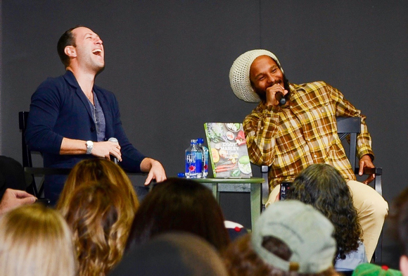 Post image for Jamaican musician Ziggy Marley stops at Kepler's to promote his new cookbook