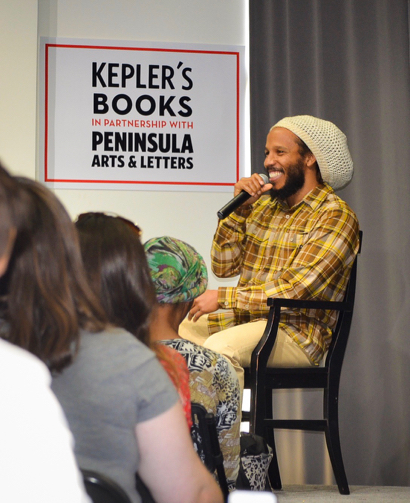 Jamaican musician Ziggy Marley stops at Kepler's to promote his new cookbook