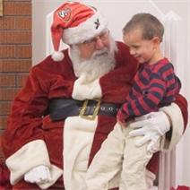 Join Santa for breakfast in Menlo Park on Saturday, December 3