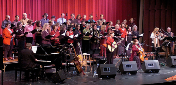 Gryphon Carolers showcase holiday music from around the world in annual concert