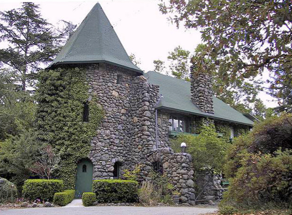 Enchanting stone buildings are all that remains of Willowbrook Farm in Portola Valley