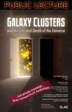 Galaxy Clusters is topic of public lecture at SLAC on Jan. 31