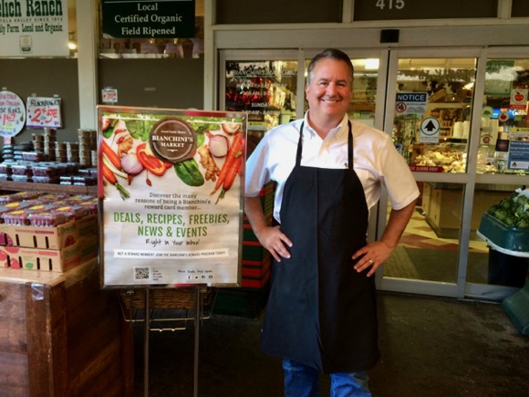 Post image for 21st century green grocer Kevin Bianchini is an enthusiastic foodie
