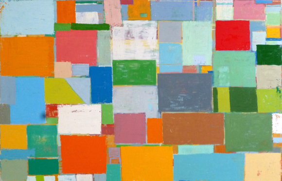 Menlo Park-based artist Mitchell Johnson's painting is included in Palo Alto Art Center exhibition