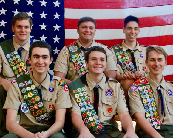 Post image for 11 Scouts from Menlo Park Troop 222 earn Eagle Scout rank