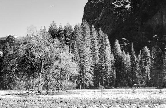 Capture winter scenes of Yosemite easily on an iPhone