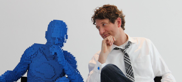 Art in Action honors renowned LEGO® brick aArtist  Nathan Sawaya at OBJECT:ART Gala on March 23