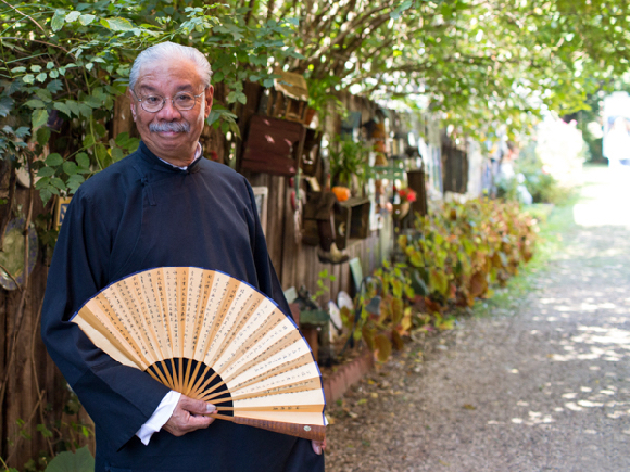 """Master storyteller Charlie Chin comes to Menlo Park to share Chinese folktales in the """"tea house"""" style"""