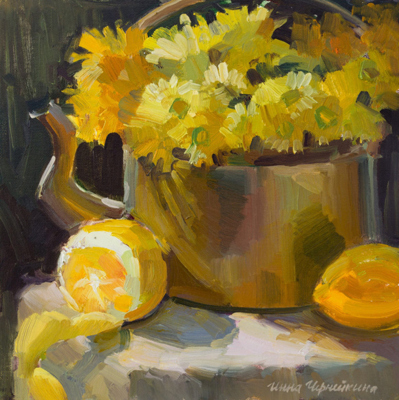 "Post image for Inna Cherneykina's ""Still Life: Artistic Experimentation"" is on display at Portola Art Gallery"