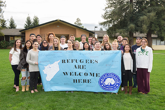 Post image for Menlo College faculty and students raise funds for Syrian refugees