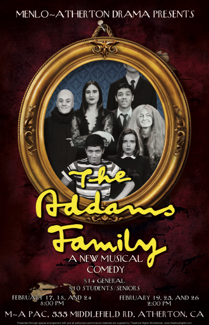 M-A Drama presents The Addams Family for its spring musical the next two weekends