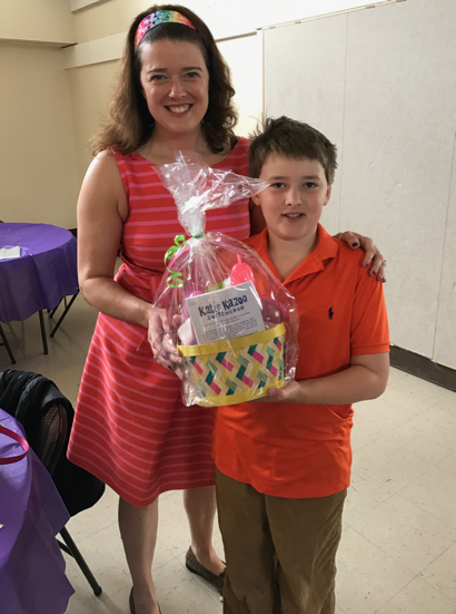 Easter basket building extravaganza at Trinity Church in Menlo Park