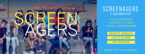 SCREENAGERS movie screening & community conversation set for March 12
