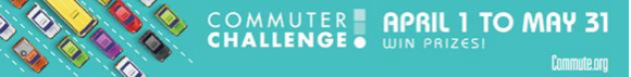 Post image for 2017 Communter Challenge runs from April 1 to May 31