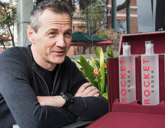 Dariusz Paczuski draws on his Polish heritage in founding Rocket Vodka