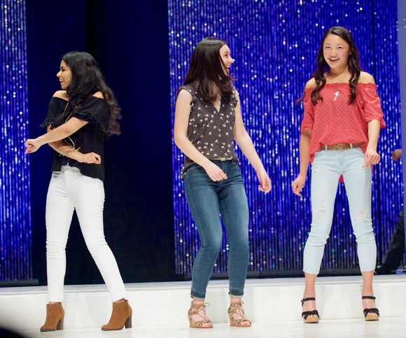 Post image for Spotted: InMenlo fashionistas strutting their stuff at M-A fashion show
