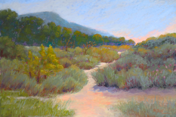 Post image for Artist Mary Stahl paints open expanses and intimate scenes of nature